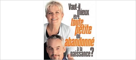"""""""Vaut-il mieux être toute petite ou abandonné à la naissance ?"""" par Mimie Mathy et Gilles Legardinier"""