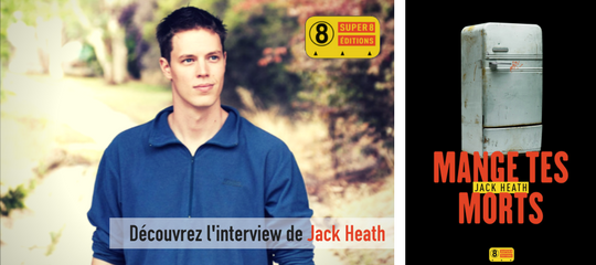 L'interview de Jack Heath, l'ambassadeur du polar carnassier