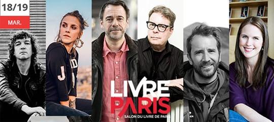 Salon du Livre 2018 : les auteurs présents (dimanche et lundi)