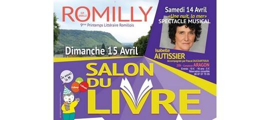 Les auteurs Terres de France au salon du livre de Romilly-sur-Andelle (27)