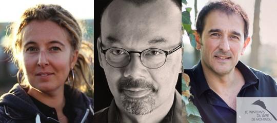 Les auteurs Slalom au Printemps du livre Montaigu
