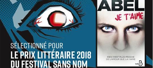 Prix littéraire - Festival Sans Nom