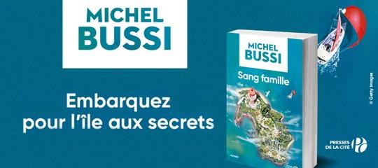 """""""Sang Famille"""" : le nouveau roman de Michel Bussi se dévoile [VIDÉO]"""