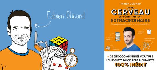 Concours : 10 livres de Fabien Olicard à gagner