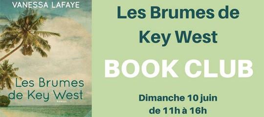 """Book Club : Discussion autour des """"Brumes de Key West"""" le 10 juin"""