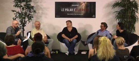 """[Vidéo] """"Le polar et le réel"""", rencontre avec Giebel, Dillard, Abel et Blanchard"""