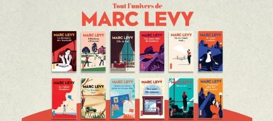 Découvrez les nouvelles couvertures de Marc Levy