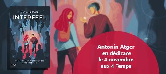 Antonin Atger en dédicace aux 4 Temps !