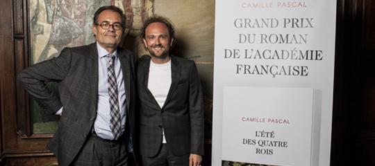 """""""L'Été des quatre rois"""" : Grégory Berthier-Gabrièle, éditeur heureux"""