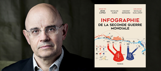 """""""Infographie de la Seconde Guerre mondiale"""" : Jean Lopez raconte ce projet hors norme"""