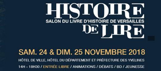 Les auteurs des Éditions Plon au salon du livre d'histoire de Versailles