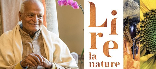 "Satish Kumar au salon ""Lire la Nature"""