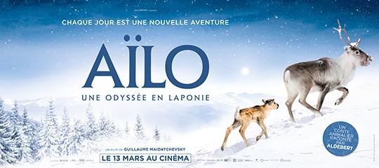 """CONCOURS """"Aïlo : une odyssée en Laponie"""""""
