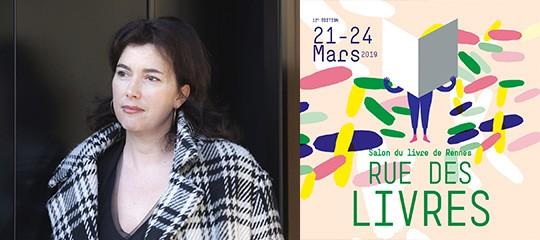 Emmanuelle Pirotte au Festival Rue des livres