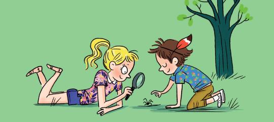 15 idées d'activités pour se connecter à la nature en famille !