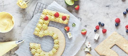 Number Cakes : comment découper votre gâteau de base pour faire tous les chiffres ?