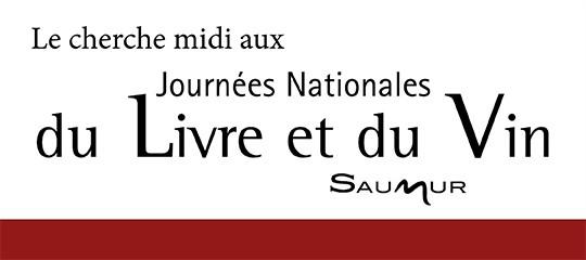 Le cherche midi aux Journées Nationales du Livre et du Vin de Saumur