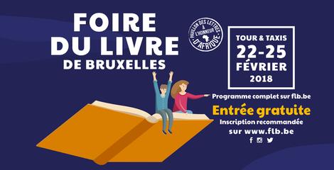 Foire du Livre de Bruxelles 2018 : venez rencontrer nos auteurs