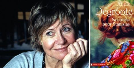 Annie Degroote au Salon du livre de Bondues (59)