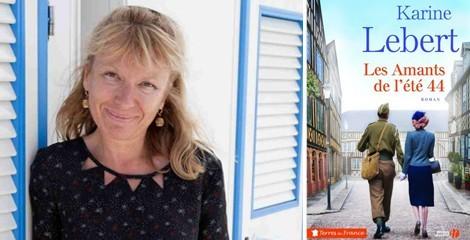 """Karine Lebert au """"Petit Salon du Lire et des auteurs normands"""" (76)"""