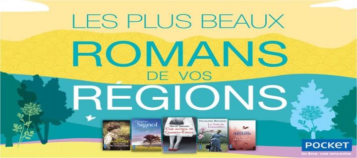 Les plus beaux romans de vos régions