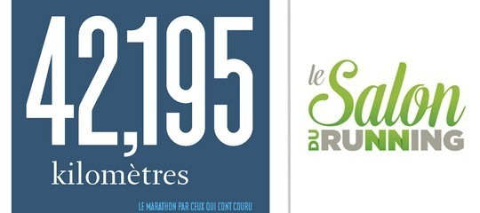 Salon du running : Jean-Christophe Collin et Estelle Denis en dédicace