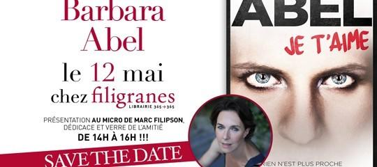 Barbara Abel en dédicace