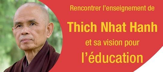 Rencontre-atelier sur la vision de Thich Nhat Hanh pour l'éducation