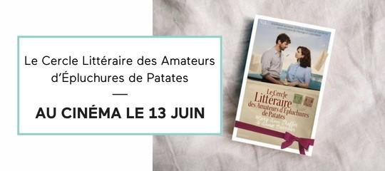 """Le roman culte """"Le Cercle littéraire des amateurs d'épluchures de patates"""" au cinéma !"""