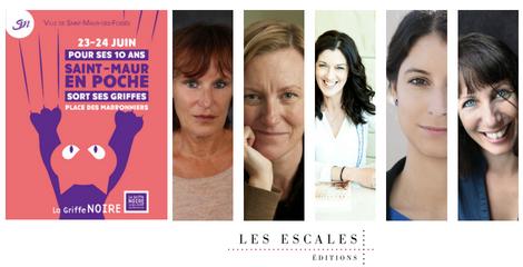 Les auteurs des Escales à Saint-Maur en poche