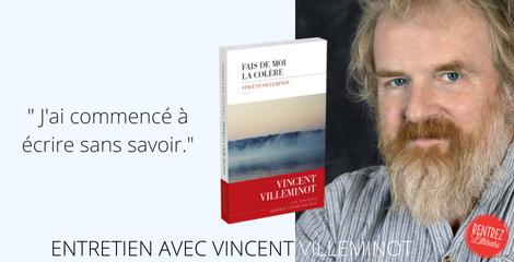 [Interview] La première rentrée littéraire de Vincent Villeminot