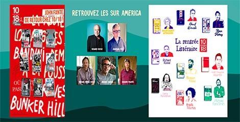 Les éditions 10/18 au Festival America