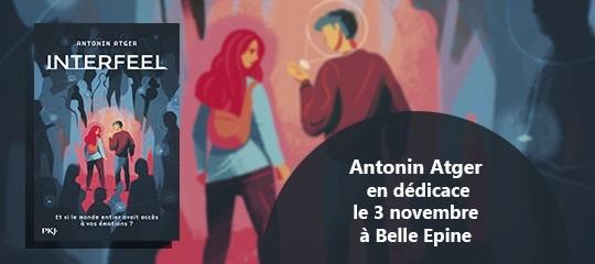 Antonin Atger en dédicace à Belle Épine !