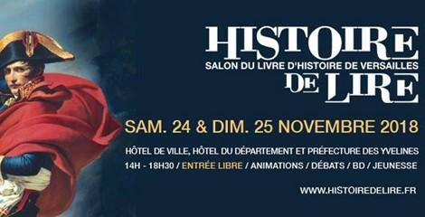 """Vos auteurs Omnibus au salon """"Histoire de Lire"""" de Versailles"""