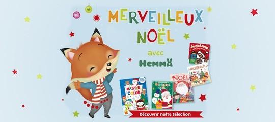 7 livres pour préparer Noël avec des enfants aux éditions Hemma