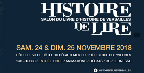 Les auteurs des éditions Perrin au Salon du livre d'histoire de Versailles