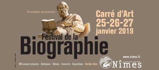 Les auteurs Perrin au Festival de la Biographie de Nîmes