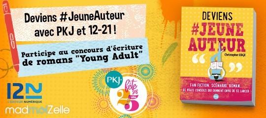 Participe au concours d'écriture de romans Young Adult