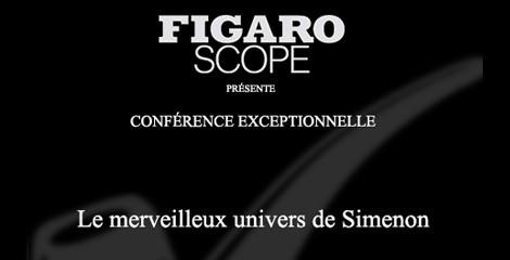 Redécouvrez l'univers de Georges Simenon avec le Figaro !
