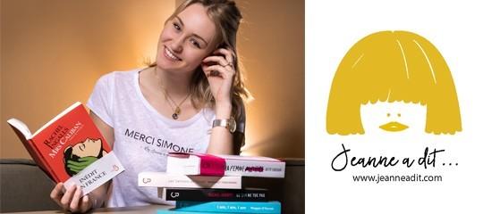 Mois féministe :  les éditions Belfond s'associent à la marque « Jeanne a dit » ! (Jeu-concours)