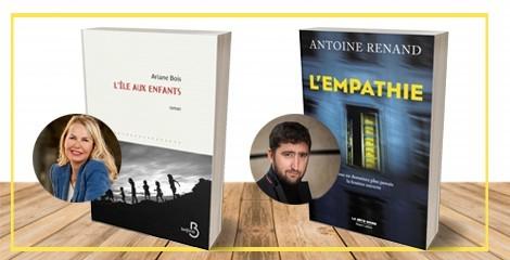 Ariane Bois et Antoine Renand en lice pour le prix Maison de la presse 2019