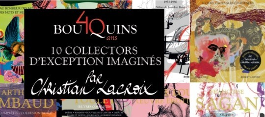 "La collection ""Bouquins"" par Monsieur Christian Lacroix"