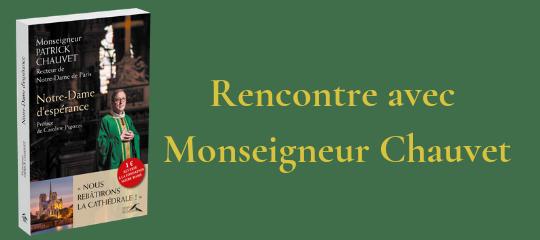 Rencontre avec Monseigneur Chauvet