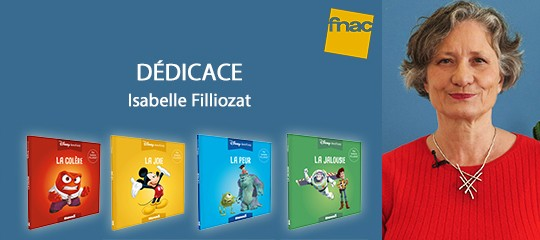 Isabelle Filliozat en dédicace à la FNAC des Ternes
