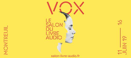 Lizzie au Salon du livre audio de Montreuil