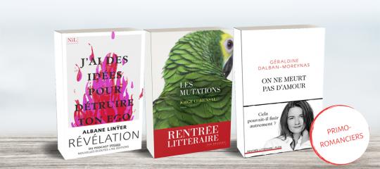 Rentrée littéraire 2019 : 5 premiers romans à découvrir absolument