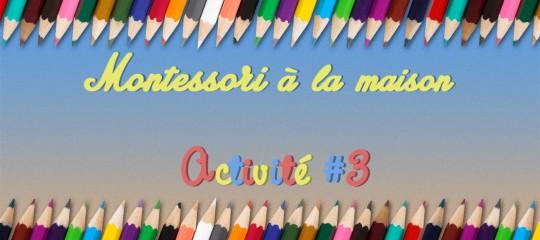 Montessori chez soi : Associer les couleurs