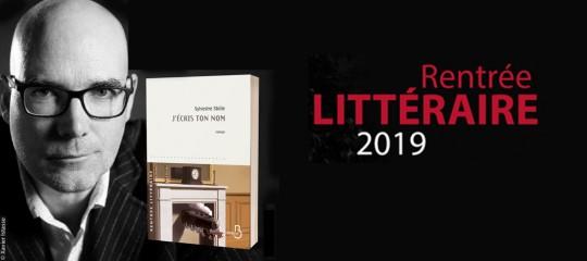 """Rentrée littéraire Pointillés 2019 : """"j'écris ton nom"""" de Sylvestre Sbille"""