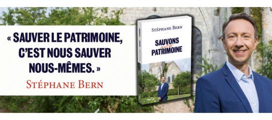 Journées du patrimoine : à lire, le manifeste de Stéphane Bern
