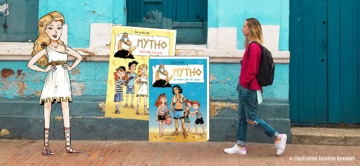 """7 anecdotes sur les dieux grecs façon """"Mytho"""""""